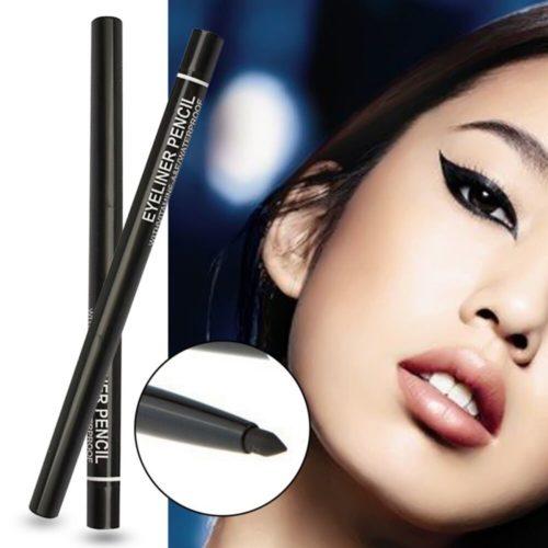 1PC noir 36h Eyeliner crayon imperm able liquide Eyeliner maquillage longue dur e Eye Liner crayon