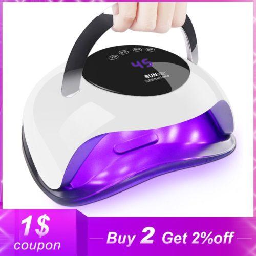 72W haute puissance s che ongles vitesse de durcissement rapide Gel lumi re lampe ongles LED