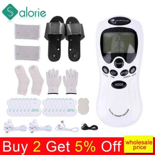 Accessoires de massages par lectrostimulation EMS 18 tampons appareils pour le corps th rapie m ridienne