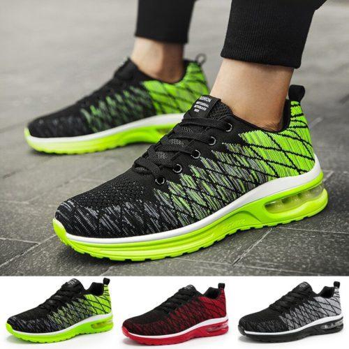 Couple chaussures de course mode respirant en plein air m le chaussures de sport baskets l