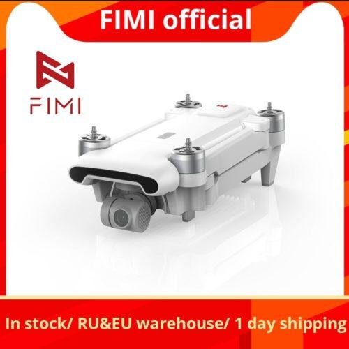 FIMI X8SE 2020 cam ra Drone quadrirotor RC h licopt re 8KM FPV 3 axes cardan