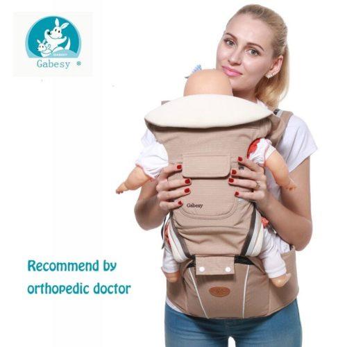 Gabesy porte b b ergonomique sac dos pour nouveau n pr vention des jambes en o