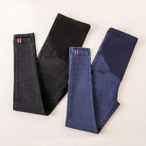 Jeans en jean pour femmes enceintes Leggings de maternit tenue de maternit