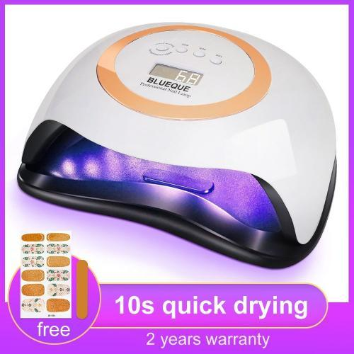 Lampe Ongles 80W plus r cent Lampara UV Led Ongles Gel s che professionnel lampe UV