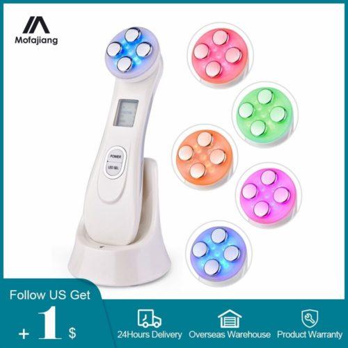 M soth rapie radiofr quence Anti ge 5 en 1 LED resserrement de la peau RF