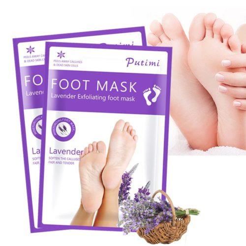 Masque exfoliant pour les pieds Peeling pour p dicure soins limine la peau morte cuticules talons