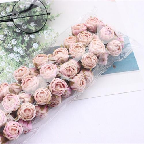 Rose artificielle nouveau bouquet 60 pi ces Petite fleur pour mariage fleur pour d coration de