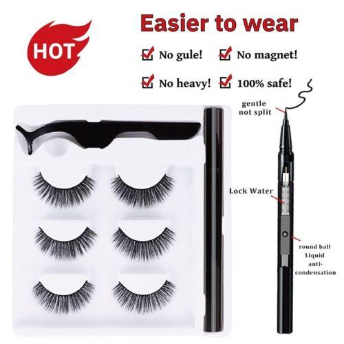 Stylos Eyeliner adh sifs s chage rapide sans Extension magn tique vente en gros outil de