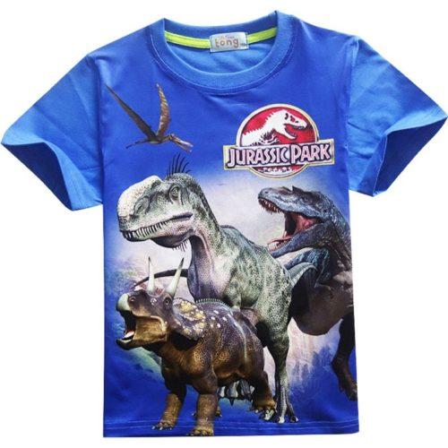 T Shirt gar on v tement de parc Jurassic imprim dinosaure Jurassic World