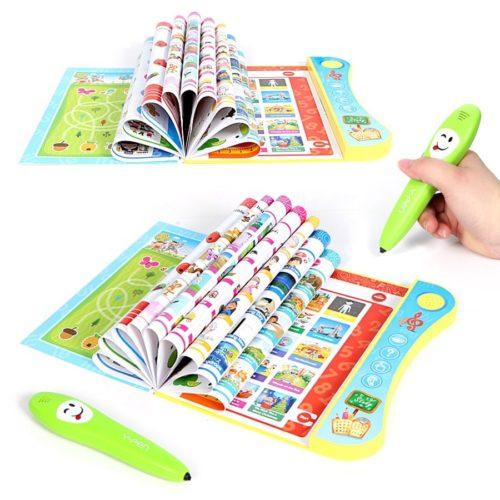 Y book lectronique avec stylo logique intelligent multifonction prononciation Machine d apprentissage pour enfant livre ducatif