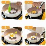 1 pi ces accessoires de cuisine en acier inoxydable oeuf frit Shaper moule cr pes Omelette 1
