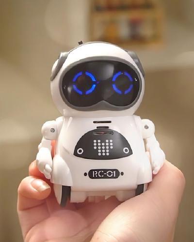 939A poche RC Robot parlant Dialogue interactif reconnaissance vocale enregistrement chant danse raconter histoire Mini RC
