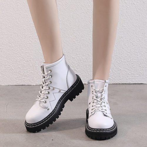 AIYUQI femmes chaussures d hiver bottes 2020 nouvelle bottine femme tendance en cuir v ritable pais