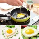 Accessoires de cuisine moule oeufs frits anneaux d omelette en acier inoxydable BBQ outil oeufs fabricant 2