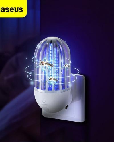 Baseus lectrique moustique tueur lampe mouche Bug Zapper insecte tueur lumi re LED pi ge antiparasitaire