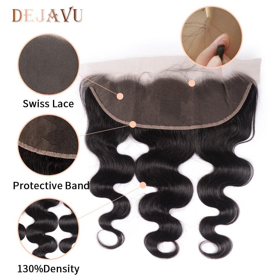 DEJAVU-Body-Wave-Bundles-With-Closure-Brazilian-Hair-Bundles-With-Frontal-Non-Remy-High-Ratio-Human