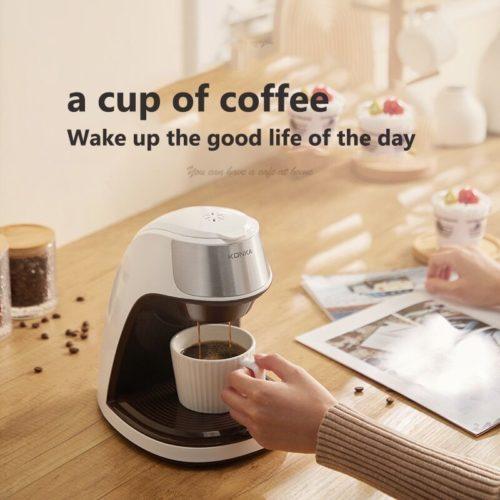 KONKA cafeti re service unique 300ml caf thermique goutte goutte Machine caf instantan e avec tasse