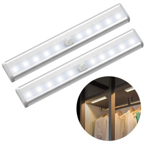 Lumi re d tecteur de mouvement 6 10 LED s PIR utilisable comme veilleuse clairage mettre