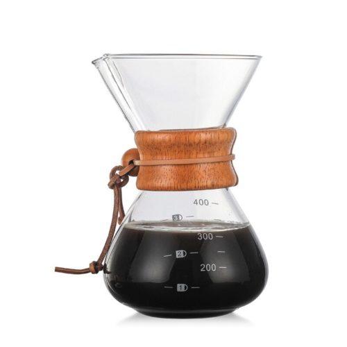 Machine caf expresso de cafeti re en verre r sistant aux hautes temp ratures en gros