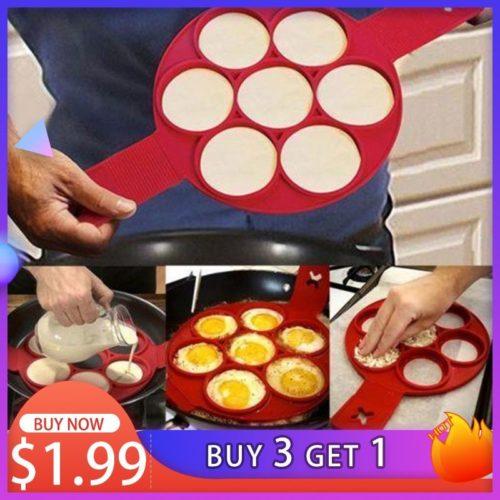 Moule uf silicone anti adh sif pour cr pe et omelette