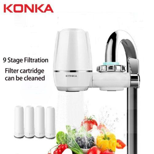 Purificateur d eau du robinet propre cuisine robinet lavable en c ramique percolateur filtre eau Filtro