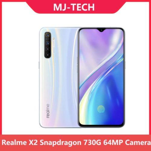Realme X2 6G 64G Snapdragon 730G 64MP cam ra 6 4 plein cran NFC OPPO t