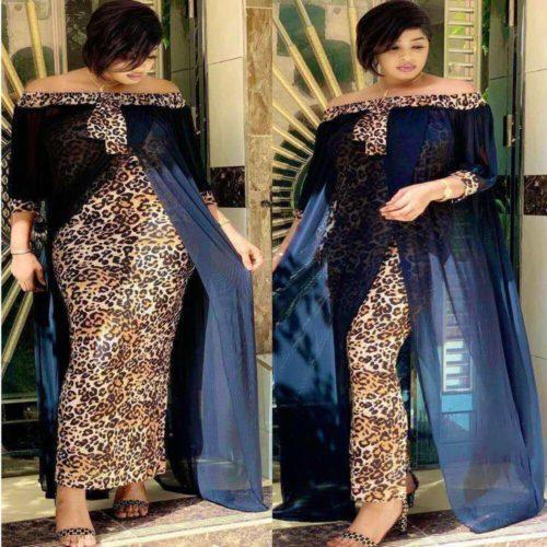 Tilapia mode l che l opard femmes maxi longue robe fendue loisirs en plein air patchwork