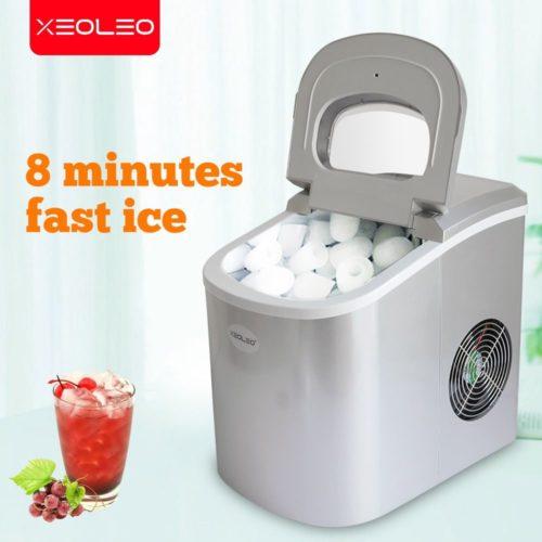 XEOLEO Mini Machine gla ons lectrique balle cylindrique Machine glace 12kg 24h automatique Machine glace domestique