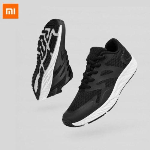 Xiaomi d contract TPU chaussures de sport hauteur rebond l ger soutien stable maille respirante noir