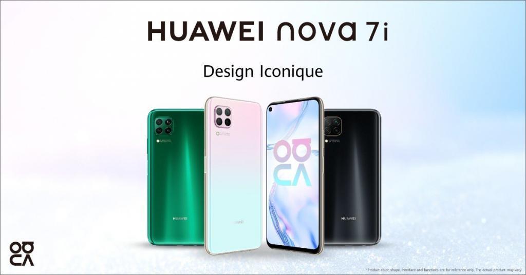 Huawei prepare le lancement du Nova 7i