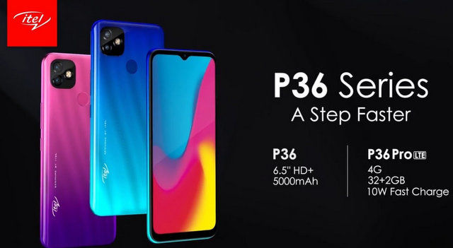 itel P36 Pro LTE fiche technique caracteristiques et