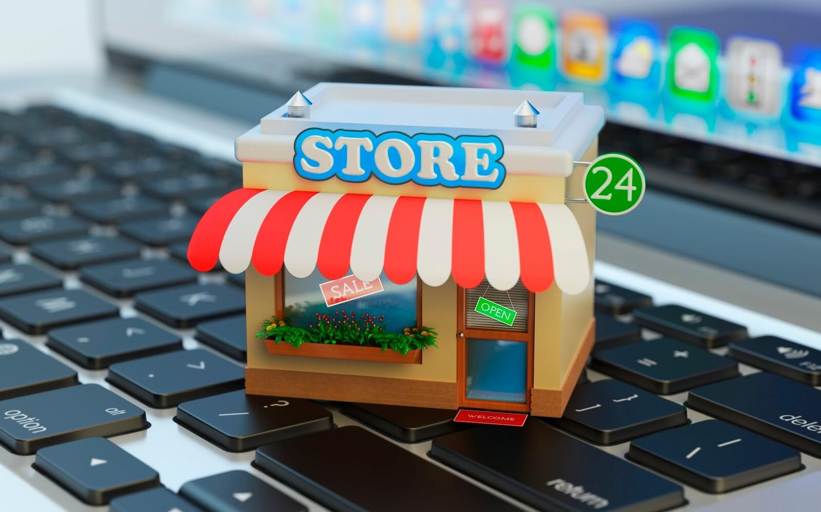 tienda online ERP ventas