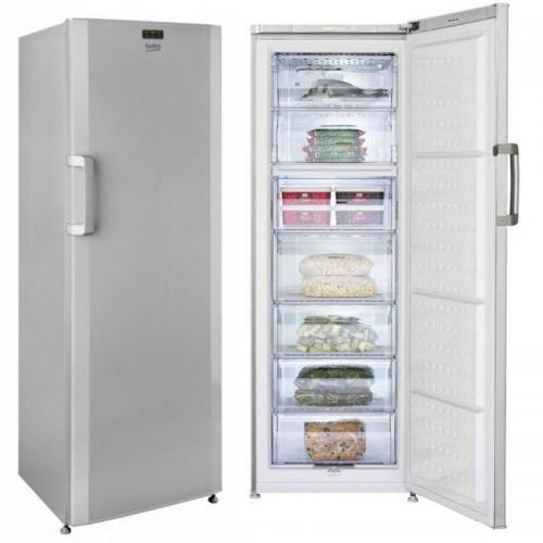 accueilbeko congelateur vertical 7 tiroirs 295 litres fs130924s garantie 12 mois