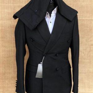 Costume croisé – Noir
