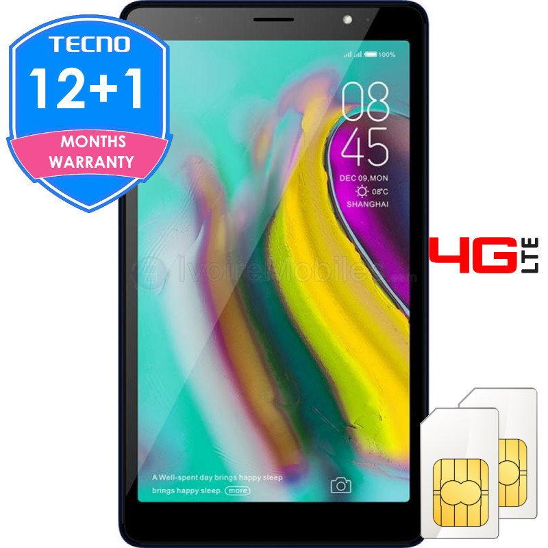 Tecno Tab 4G LTE – 32Go